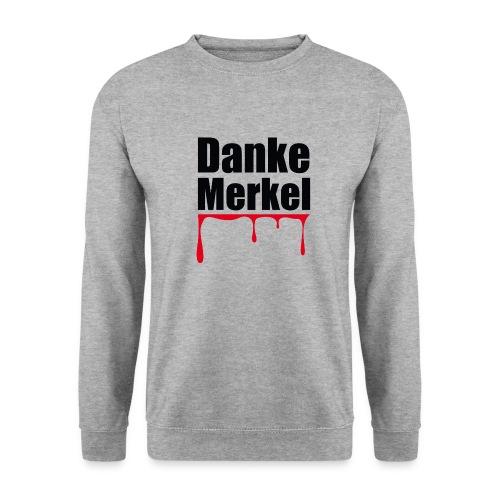 Danke Merkel - Männer Pullover
