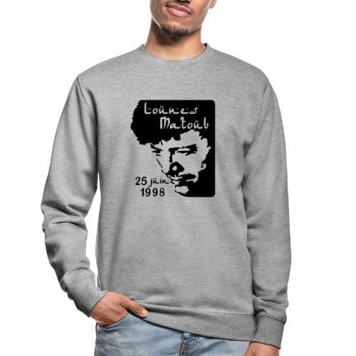 Motif hommage à Lounes Matoub - Sweat-shirt Unisexe