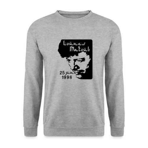 Motif hommage à Lounes Matoub - Sweat-shirt Homme