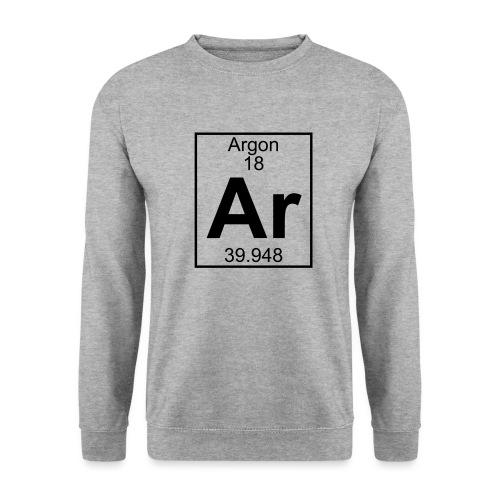 Argon (Ar) (element 18) - Men's Sweatshirt