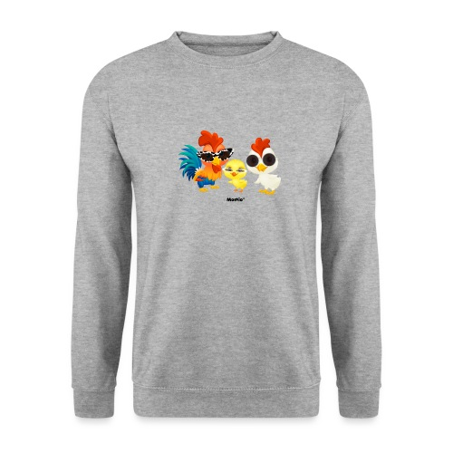 Kip - door Momio Designer Emeraldo. - Unisex sweater