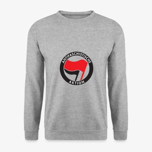 Atnifaschistische Action - Antifa Logo - Men's Sweatshirt