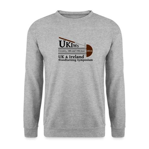 LARGE-UKIWS-Logo - Men's Sweatshirt