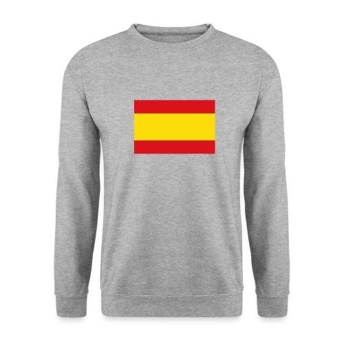 vlag van spanje - Mannen sweater