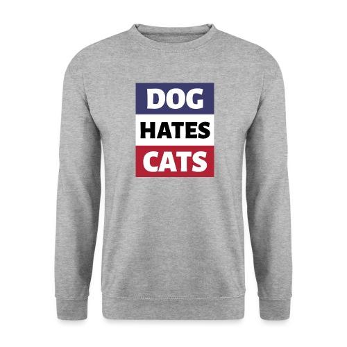 Dog Hates Cats - Männer Pullover