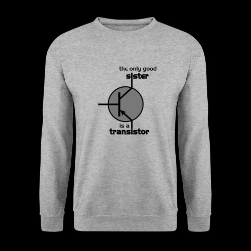 The only good sister is a transistor - Männer Pullover