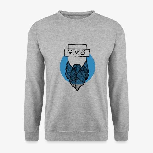 LogoCircle-blue - Männer Pullover