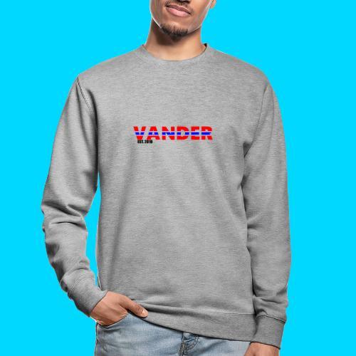 Vander in Red, white and blue. - Unisex Sweatshirt