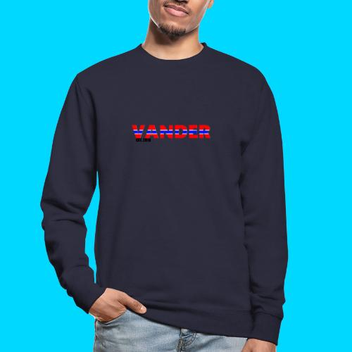 Vander in Red, white and blue. - Unisex Sweatshirt
