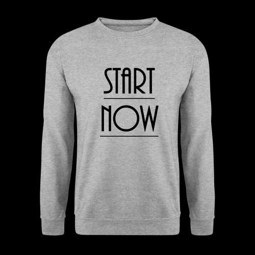 start now - Unisex Pullover