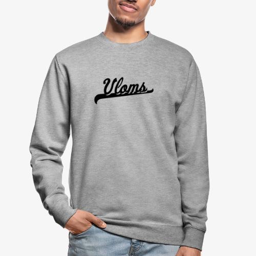 Zwart logo Vloms - Unisex sweater