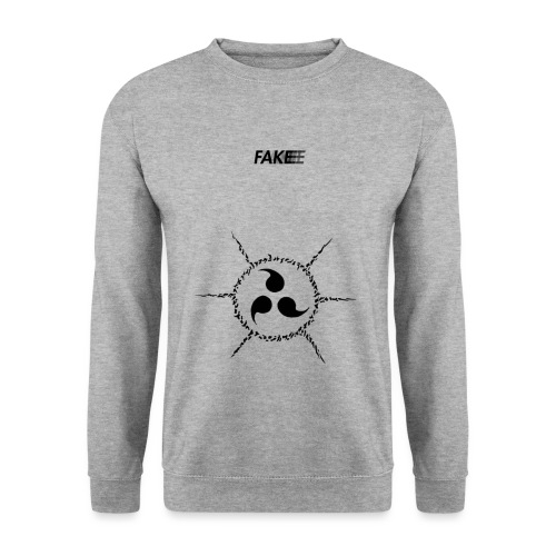 fake logo trasparent tribal - Felpa unisex