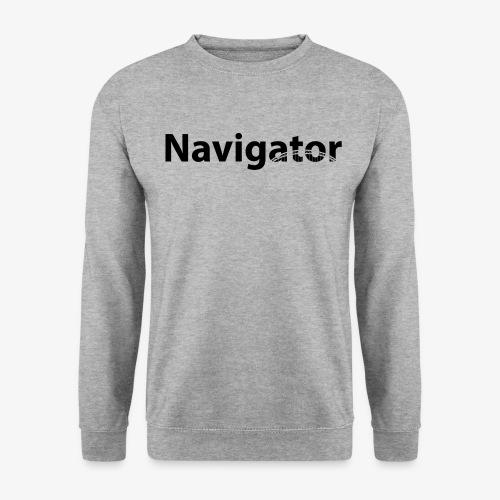 Navigator VIO combinatie zwart - Unisex sweater