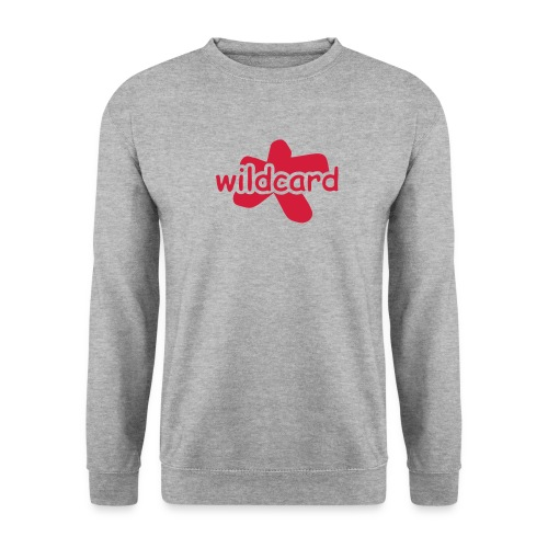 wildcard logo uni - Männer Pullover