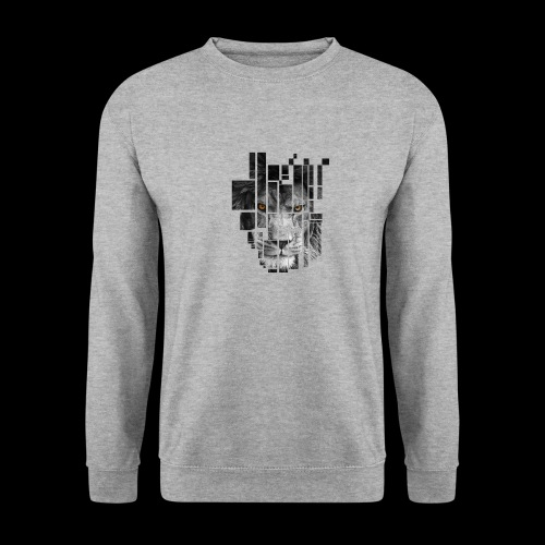 Pixel Lion Tattoo Inspire - Men's Sweatshirt