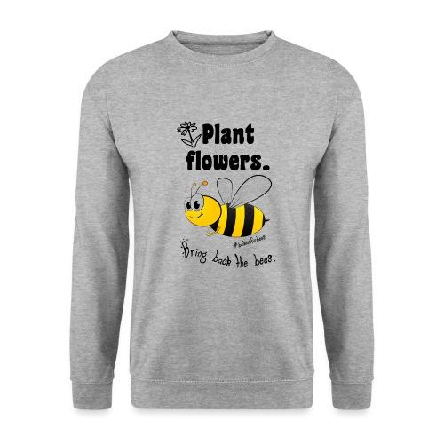 Bees8-1 Bringt die Bienen zurück! | Bookrebels - Men's Sweatshirt