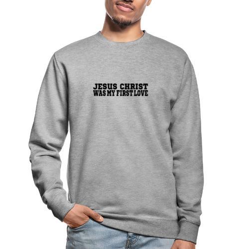 Jesus Christus Lieben - Unisex Pullover