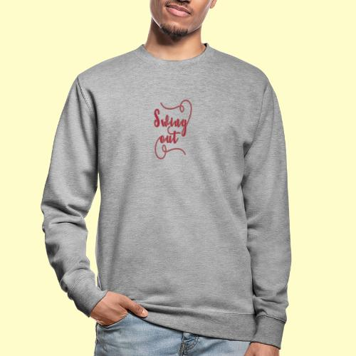 Swing Out Lindy Hop Vintage - Swing Retro - Unisex Pullover