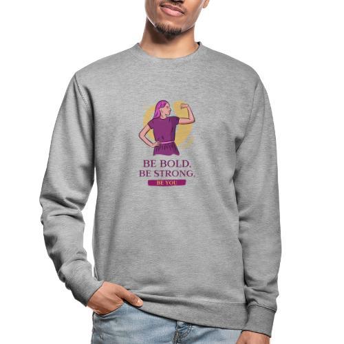 t shirt design generator featuring an empowered - Sudadera unisex
