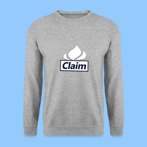 Claim Logo - Männer Pullover