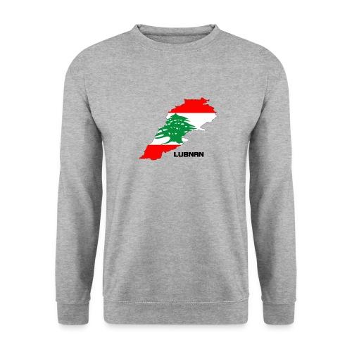 libanon landkarte - Männer Pullover