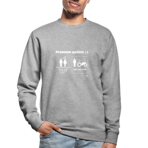 Problem gelöst - Unisex Pullover