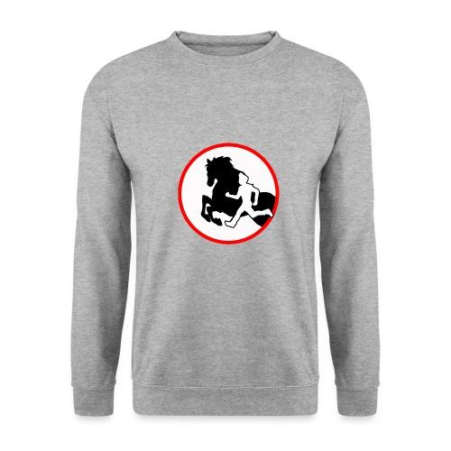 Horse Agility Logo - Männer Pullover