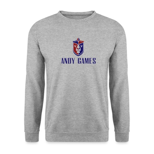 Logo AndyGames png - Mannen sweater