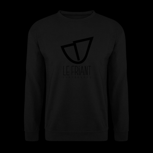 Logo Noir Le Friant Surfboards - Sweat-shirt Unisexe