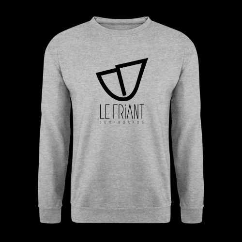 Logo Noir Le Friant Surfboards - Sweat-shirt Unisex