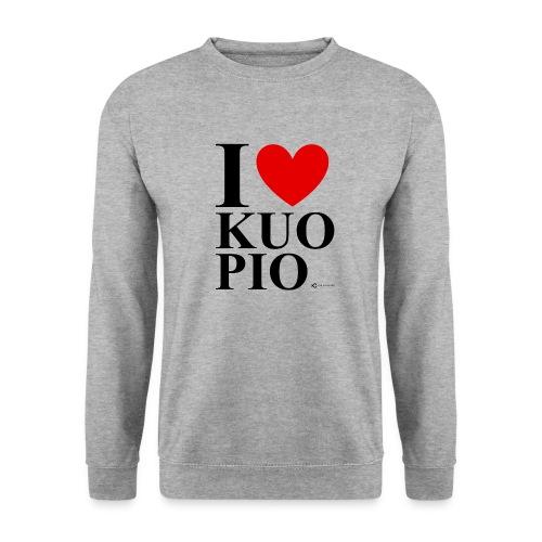 I LOVE KUOPIO ORIGINAL (musta) - Unisex svetaripaita
