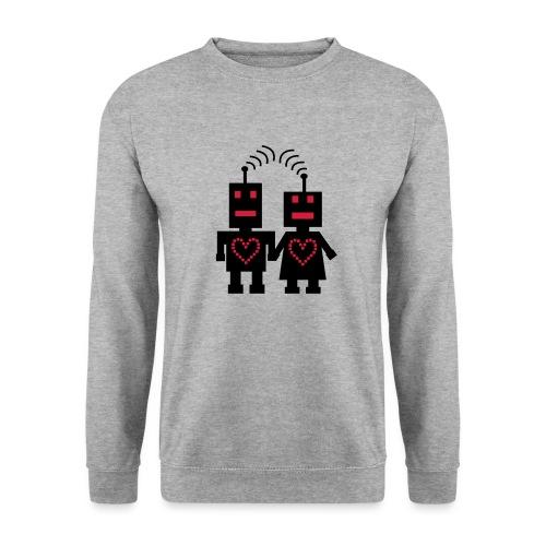 Roboter Liebe - Männer Pullover