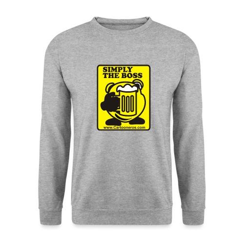 Simply the Boss - Men's Sweatshirt