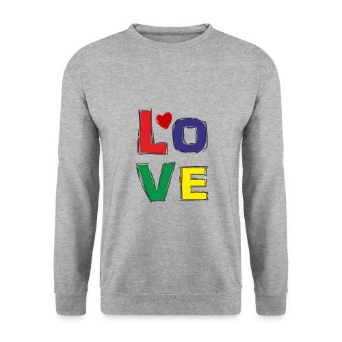 LOVE - Männer Pullover