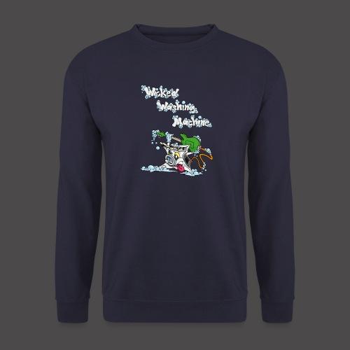Wicked Washing Machine Cartoon and Logo - Unisex sweater