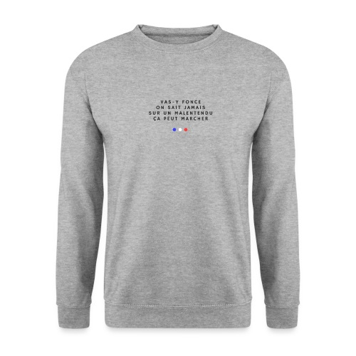 Sur un malentendu - Sweat-shirt Unisex