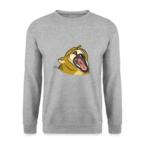 Gähnender / brüllender Löwe - Männer Pullover