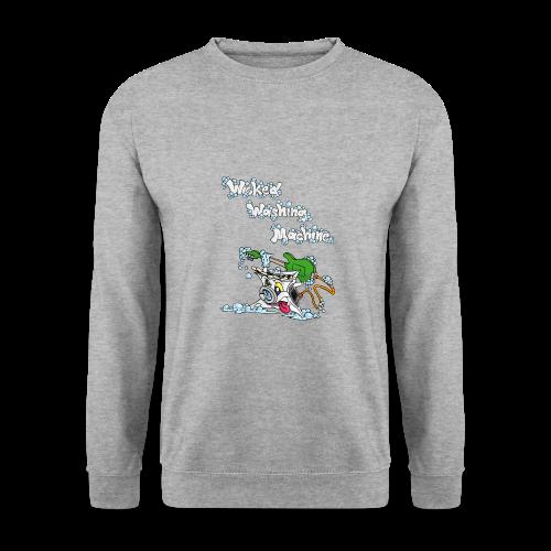 Wicked Washing Machine Cartoon and Logo - Mannen sweater