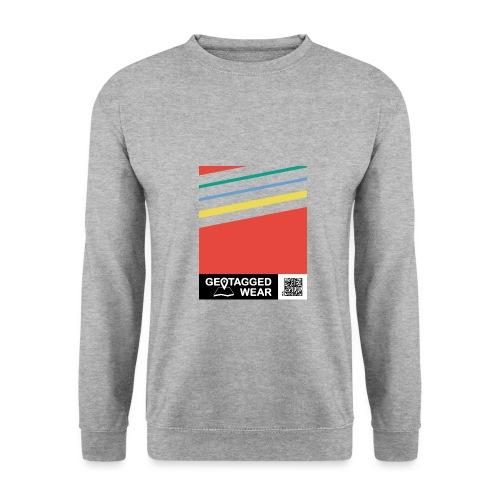 Unisex Stripes Pantone Colored - Männer Pullover
