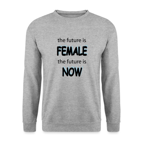 Future Female Now - Männer Pullover