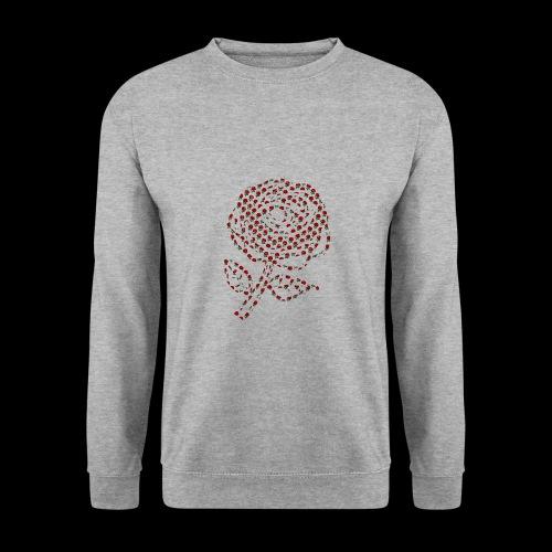 Rose aus Rosen - Männer Pullover