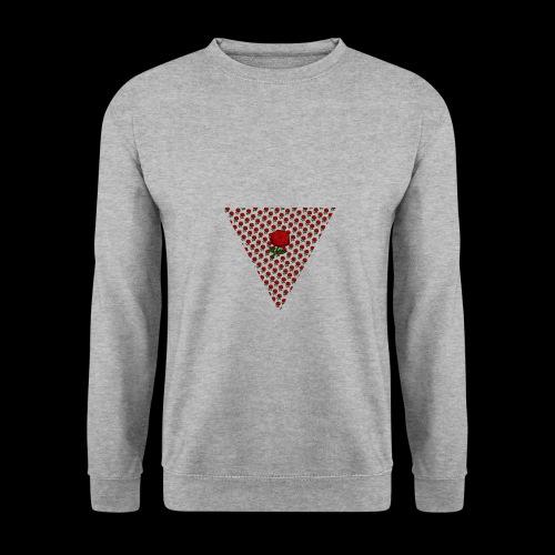 Dreieck Rose - Männer Pullover