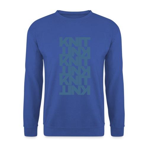 Garter Stitch, dark - Unisex Sweatshirt