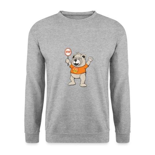 FUPO der Bär. Druckfarbe bunt - Männer Pullover