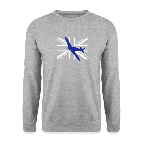 ukflagsmlWhite - Men's Sweatshirt
