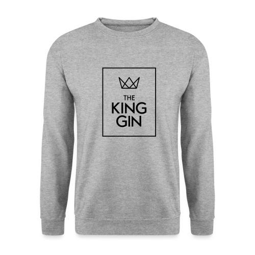 The King Gin Logo schwarz RGB Rahmen - Unisex Pullover
