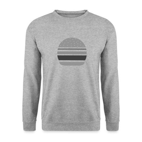 Logo_panhamburger_gris - Sweat-shirt Homme
