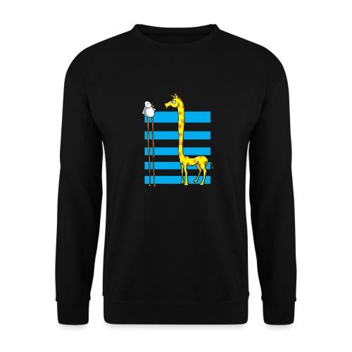 La girafe et l'échassier - Sweat-shirt Unisex