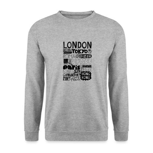 Villes du monde - Sweat-shirt Homme