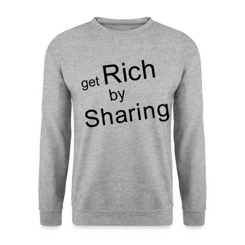get Rich gif - Unisex Pullover